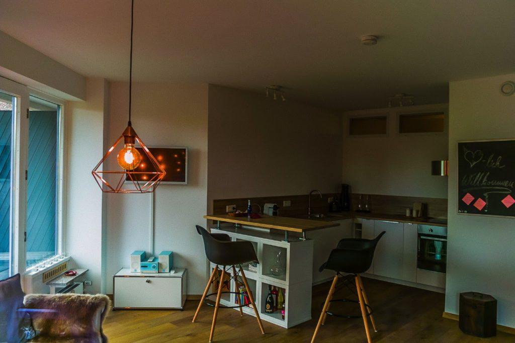 Messewohnung Krefeld Küche