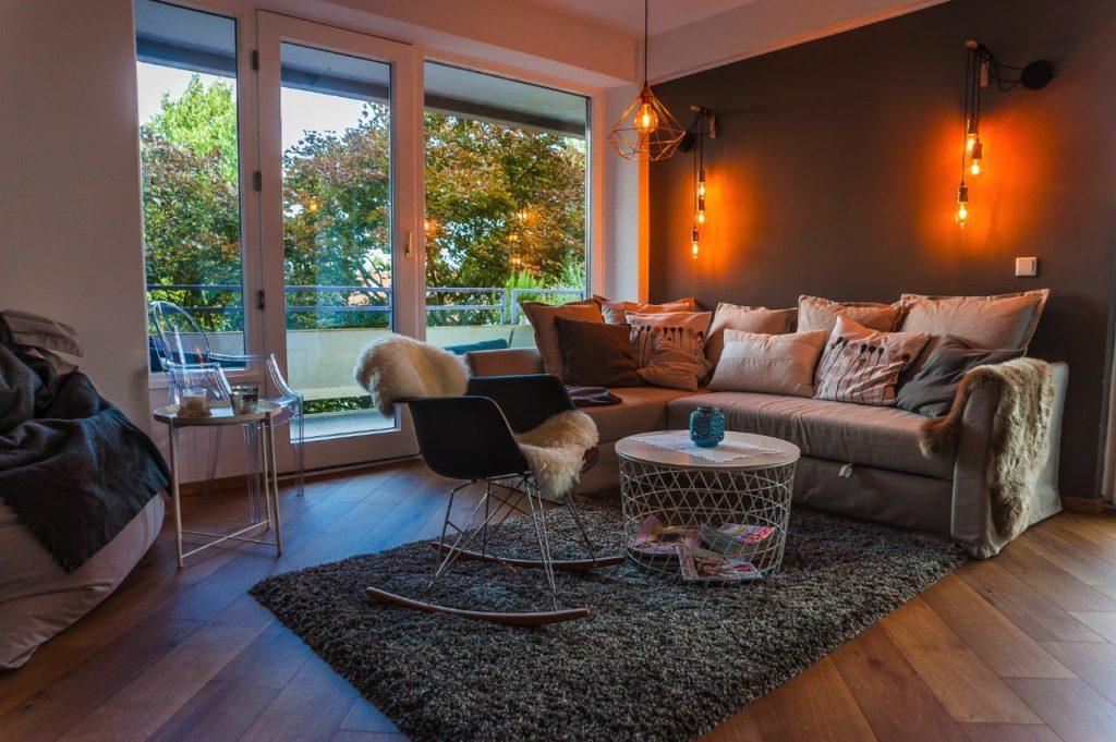 Ferienwohnung Krefeld Wohnzimmer