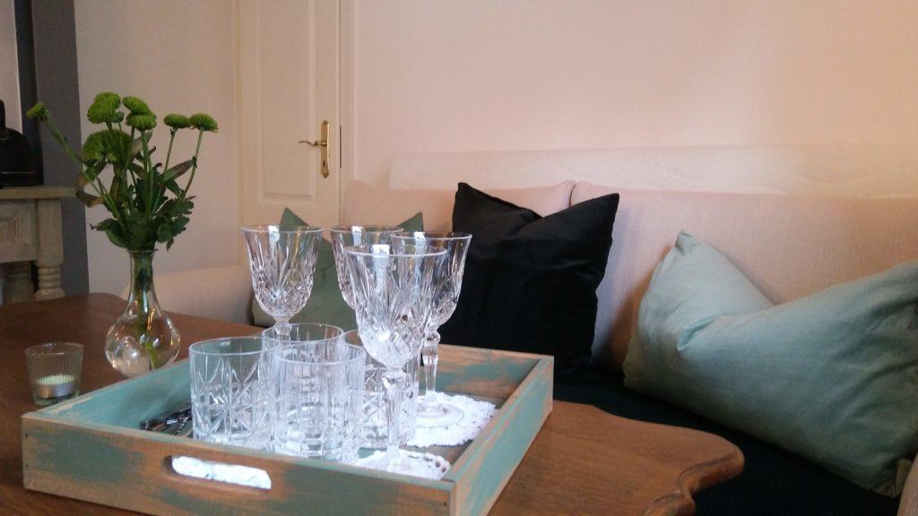 Zimmer grün Ferienunterkunft Monschau (6)